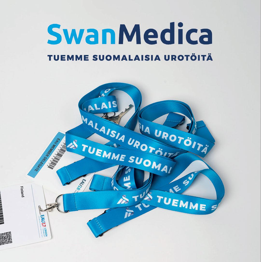 SwanMedica tukee suomalaisia urotöitä